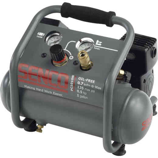 Senco 1 Gal. Portable 135 psi Finish & Trim Air Compressor
