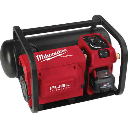 Milwaukee M18 FUEL Brushless 2 Gal. Portable 135 psi Cordless Air Compressor (Bare Tool)