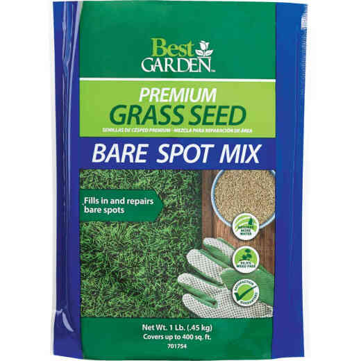Best Garden 1 Lb. 250 Sq. Ft. Coverage Ryegrass, Red Fescue, & KY Bluegrass Grass Seed